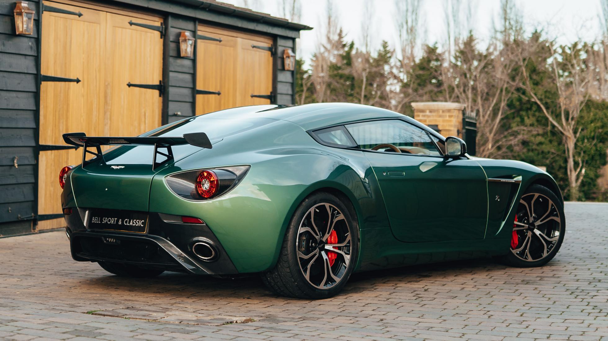 A One Off All Aluminum Aston Martin V12 Zagato Is For Sale