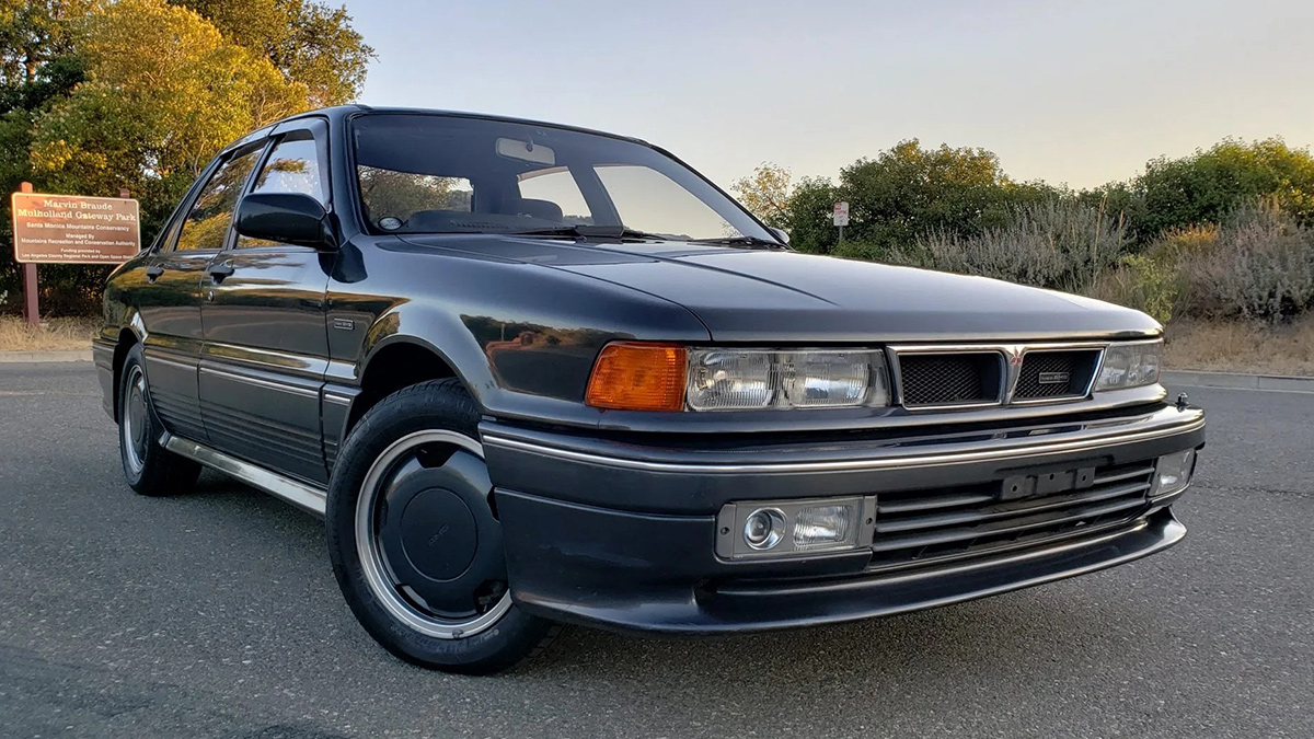 This 1991 Mitsubishi Galant Amg Type Ii Is For Sale