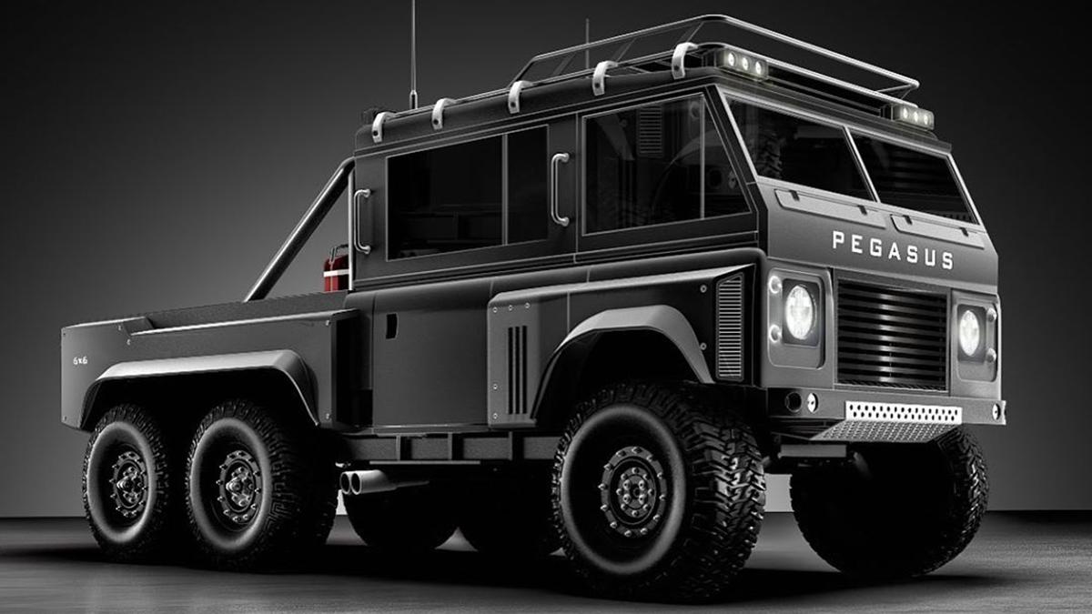 Artist Doruk Erdem S Pegasus Is A 6x6 Land Rover Defender Concept