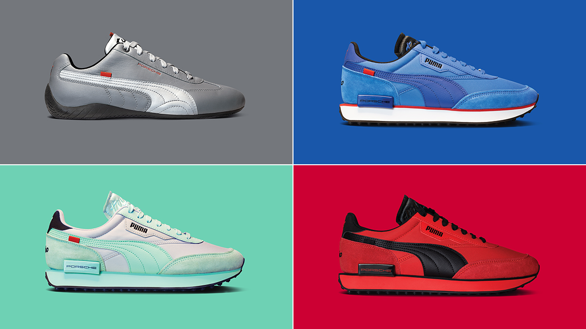 Puma is selling sneakers inspired by the Porsche 911 Turbo