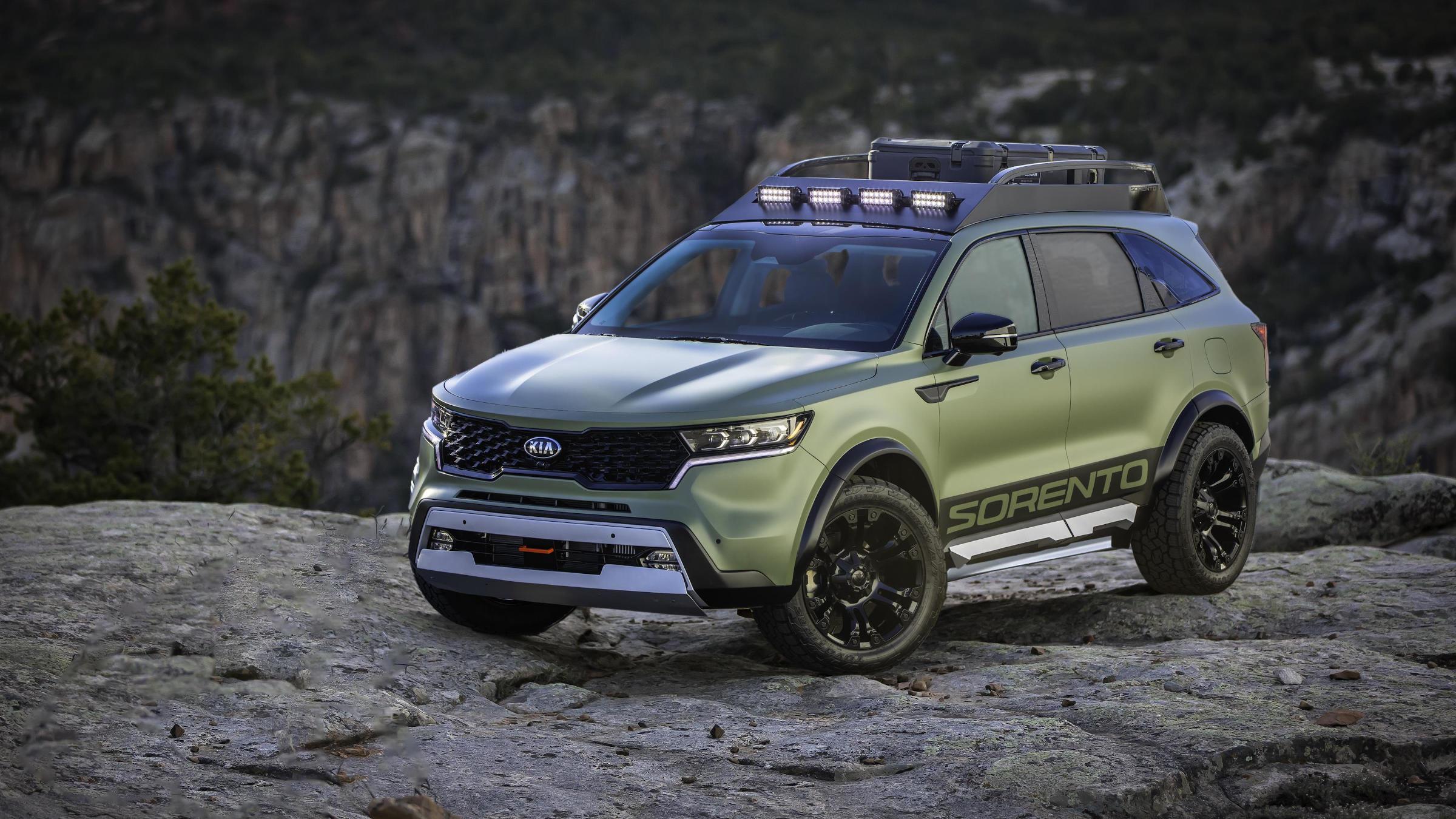 2021 Kia Sorento Yosemite Edition, Zion Edition: Specs ...