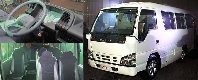 7df0554d8e Isuzu Philippines unveils Microbus