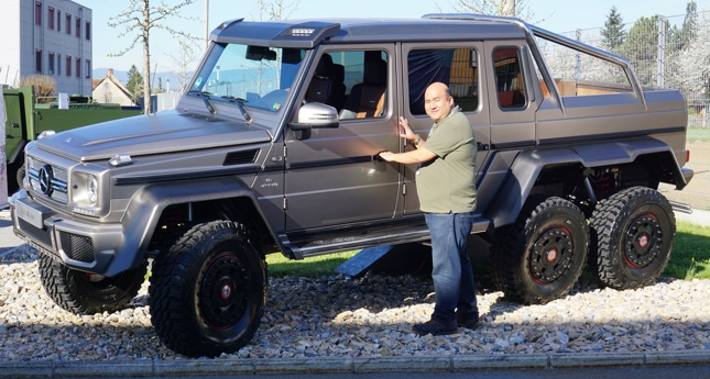 G63 Amg 6X6 >> 8 Things We Learned About The Mercedes Benz G63 Amg 6x6