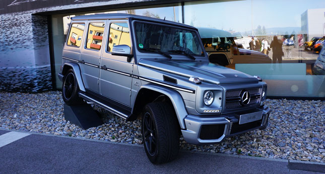 Colors Of The Manly Mercedes Benz G