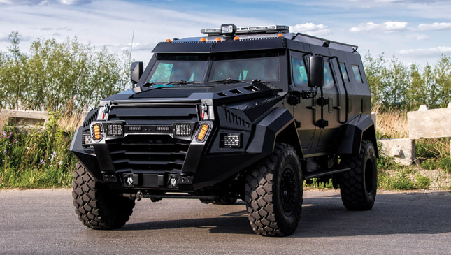 Military Vehicles For Sale Canada >> This armored vehicle can survive a zombie apocalypse