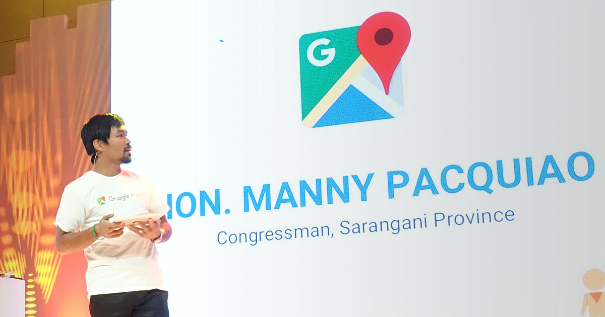 Manny Pacquiao invites us to tour his hometown   via Google