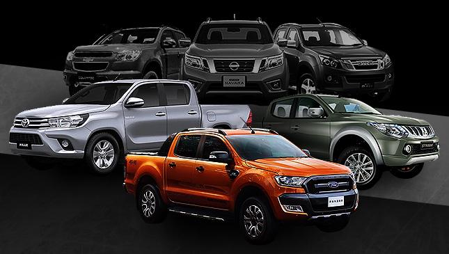Truck wars: Colorado, D-Max, Hilux, Navara, Ranger or Strada?