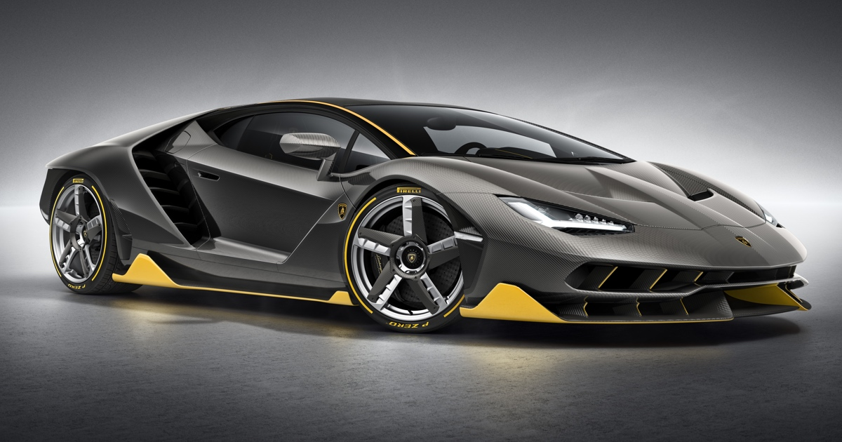 With The Centenario Lamborghini Proves It Has Nothing Left To Er
