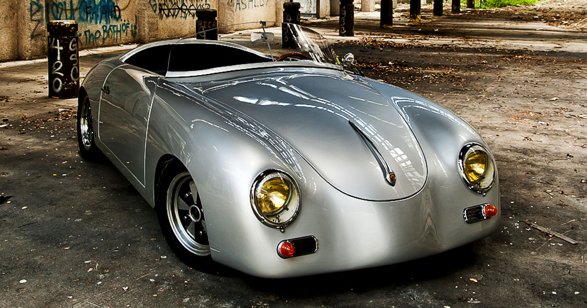 this porsche 356 speedster kit car is a labor of love. Black Bedroom Furniture Sets. Home Design Ideas