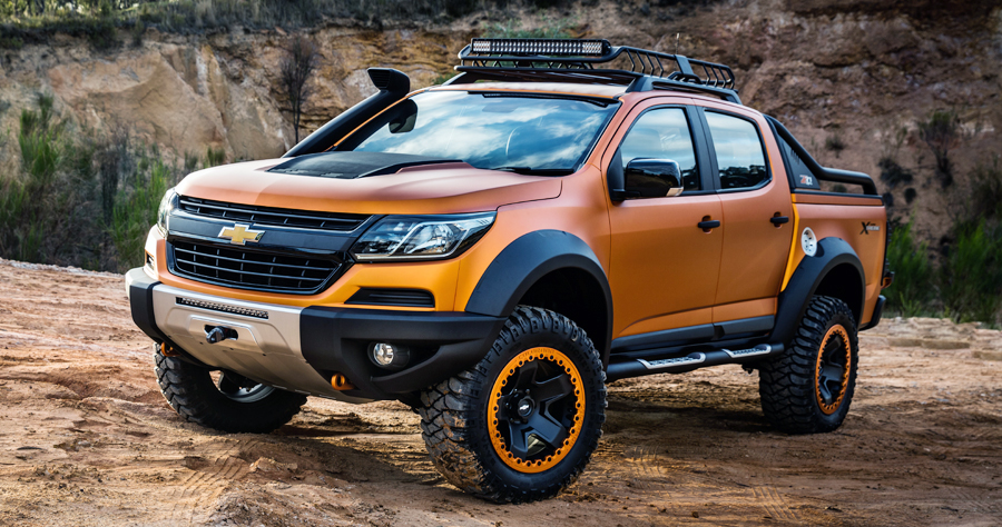 want chevrolets colorado xtreme show vehicle you can