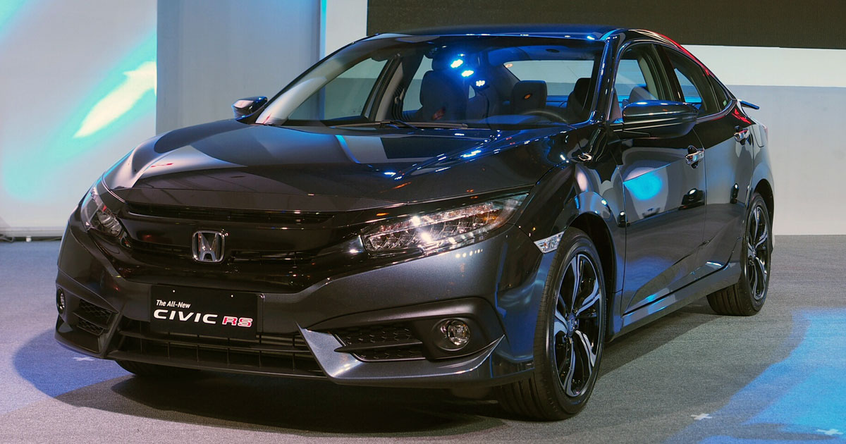 honda civic variants prices