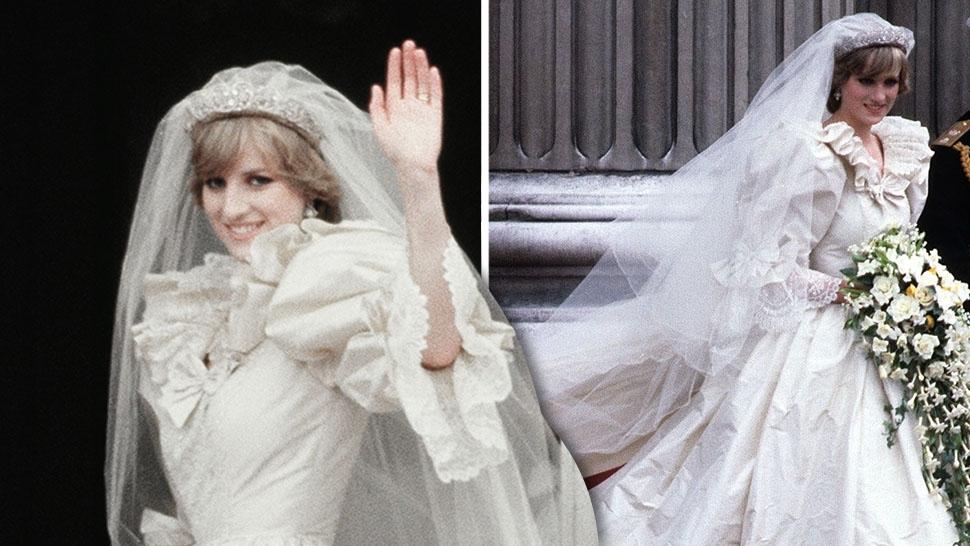 Diana Wedding Dress.10 Hidden Details You Didn T Know About Princess Diana S