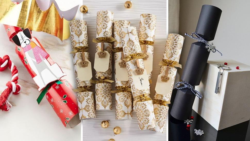 Christmas Crackers.10 Luxury Christmas Crackers