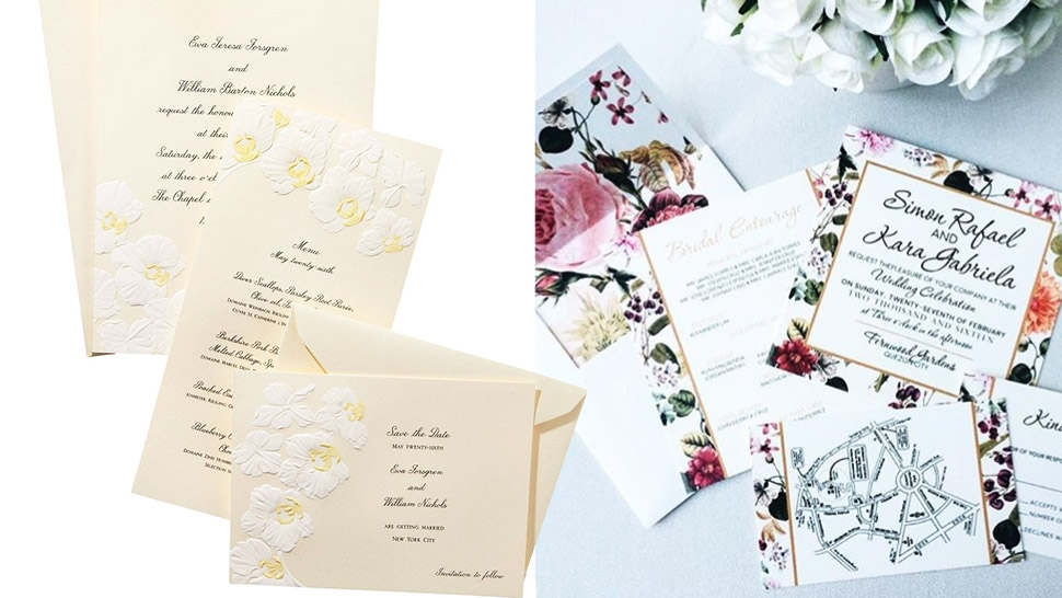 Rules on Making Classy Wedding Invitations | T&C Ph