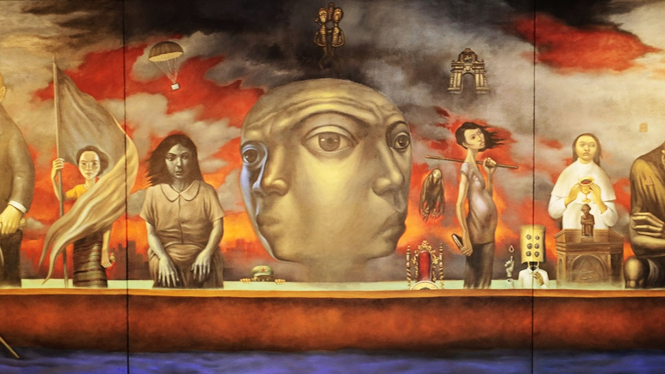 Three Esteemed Artists One Giant Painting On The Philippines