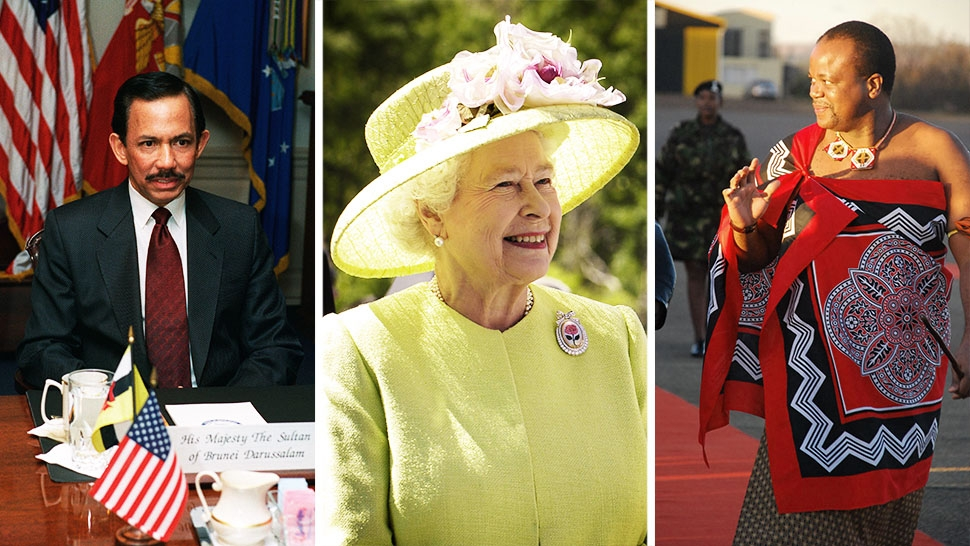 The World's Richest Royals and How Much They're Worth