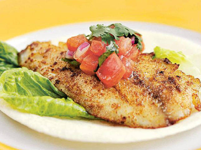 Mexican Style Fish Fillet