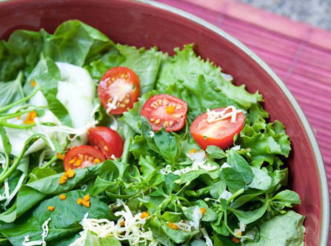 Solimar S Native Green Salad