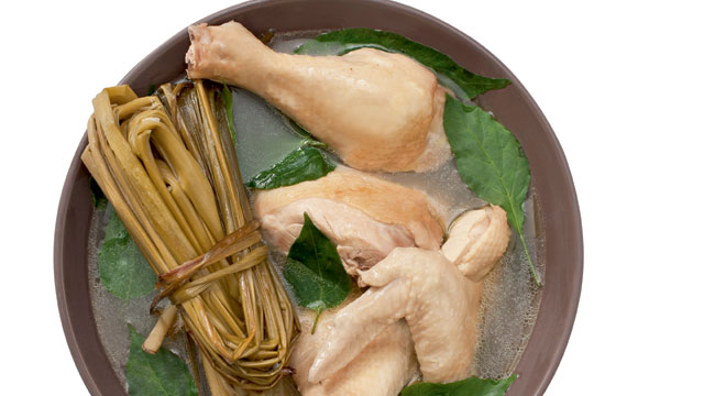 Tinanglarang Manok Chicken In Lemongrass Soup Recipe