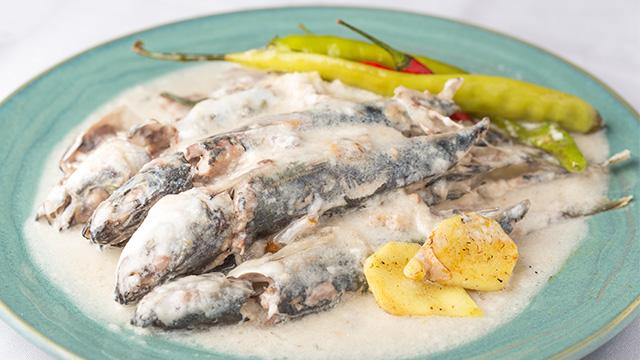 Ginataang Galunggong Fish Cooked In Coconut Milk Recipe