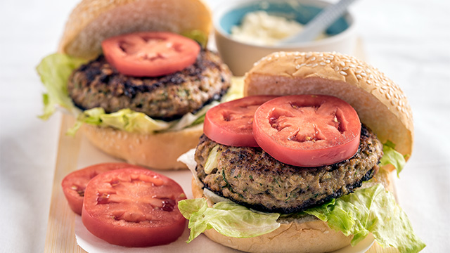 Healthy Beef And Zucchini Burgers Recipe