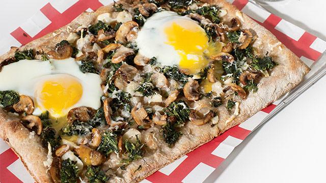 Spinach And Mushroom Pizza Recipe