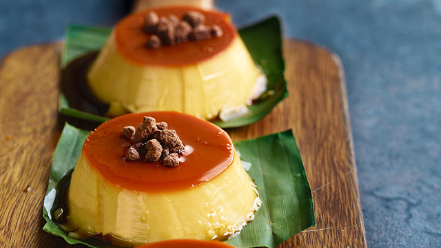 How to make puto flan in oven