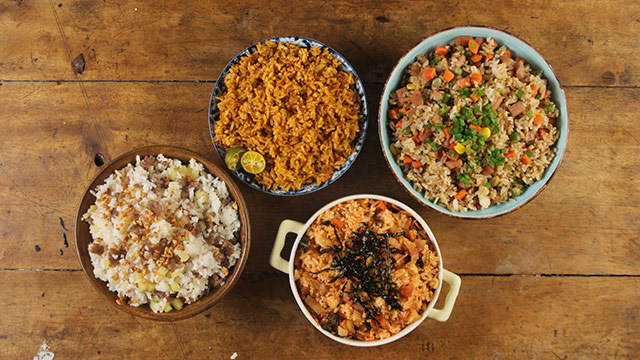 WATCH: 4 Fantastic Fried Rice Recipes