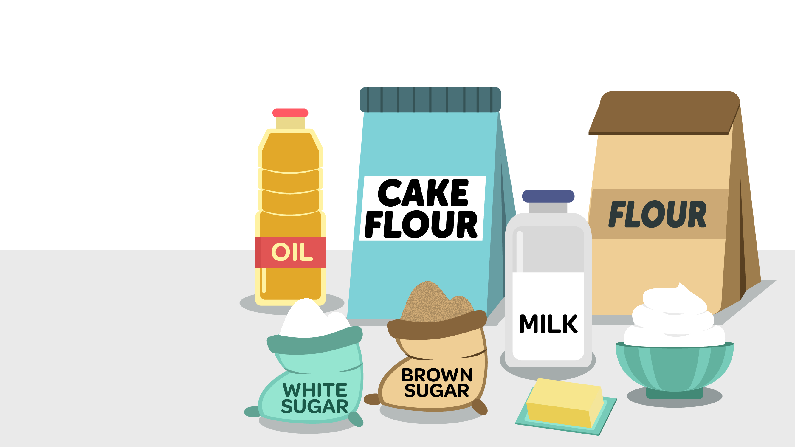 Baking Ingredients Clipart INFOGRAPHIC: Weight Co...