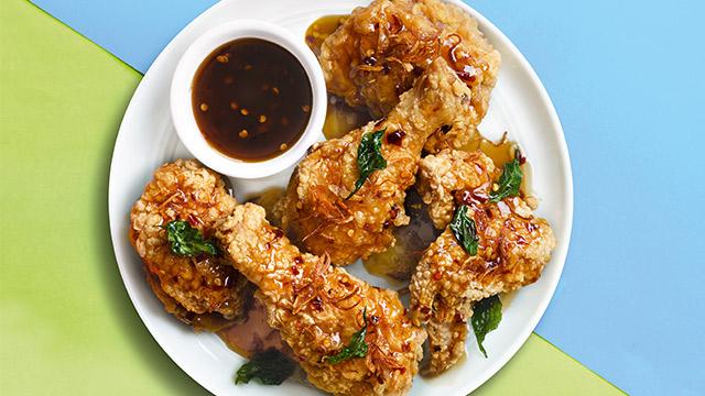 Patis Glazed Fried Chicken Recipe