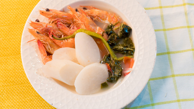 Sinigang Na Hipon Sa Sampaloc Recipe