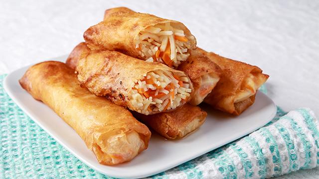 Fried Lumpiang Ubod Recipe