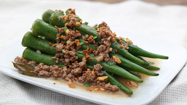 Adobong Okra Recipe