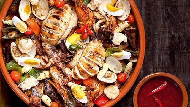 Inihaw Na Pinoy Paella Recipe