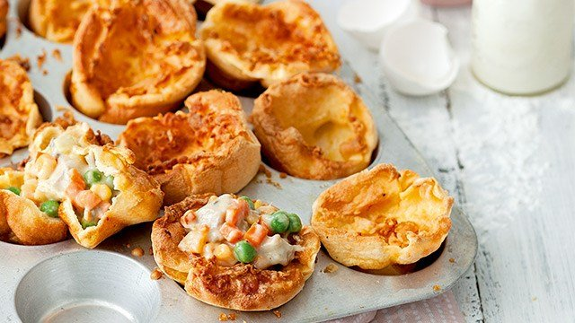 Chicken Popovers Recipes