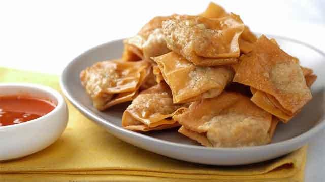 Pinsec Frito Fried Wonton Recipe