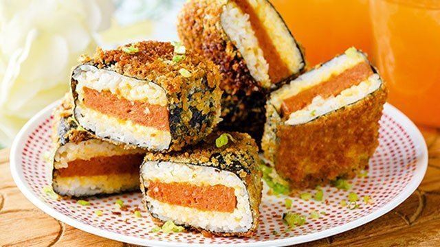 Crispy Spam Musubi Recipe