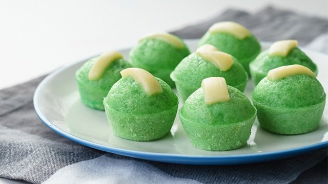 Pandan Cake Jelly Recipe: Pandan Puto Recipe