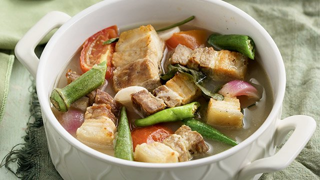 Pork Sinigang Sa Mangga Recipe