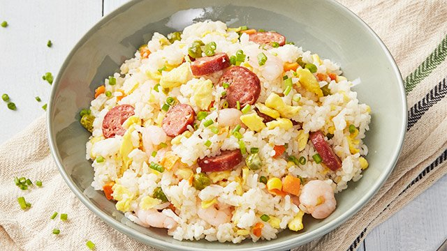 20 Minute Yang Chow Fried Rice Recipe