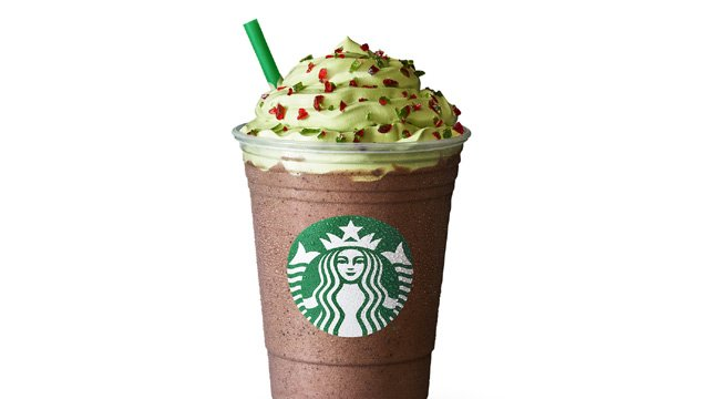 Starbucks 2017 Holiday Drinks Include A Christmas Tree Peppermint