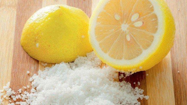 Image result for salt and lemon