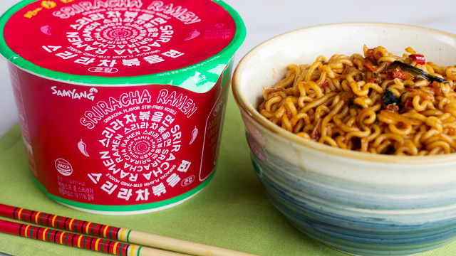 Sriracha Fans, You Have To Try This New Instant Noodle!