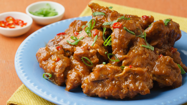 Sweet And Spicy Spareribs Recipe