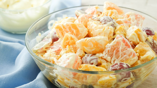 Cream Cheese Fresh Fruit Salad Recipe