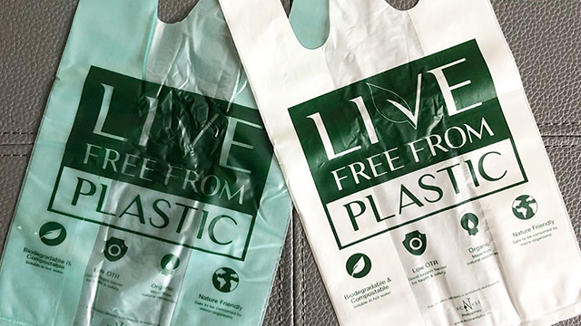 This Eco-Friendly Grocery Plastic Bag Won't Harm Mother Earth