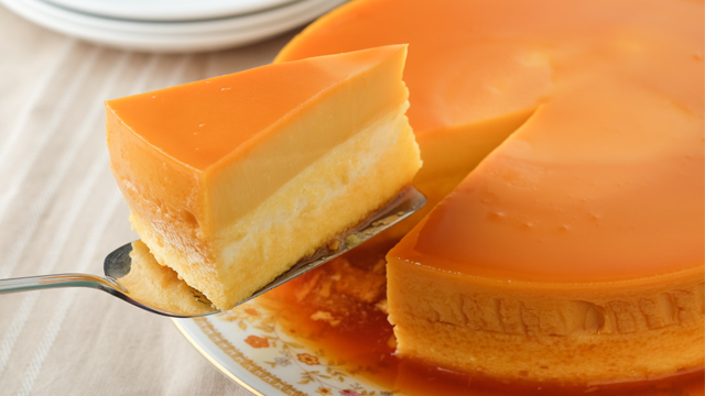 Leche Flan Cheesecake Recipe