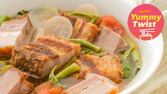 Crispy Pork Sinigang Recipe