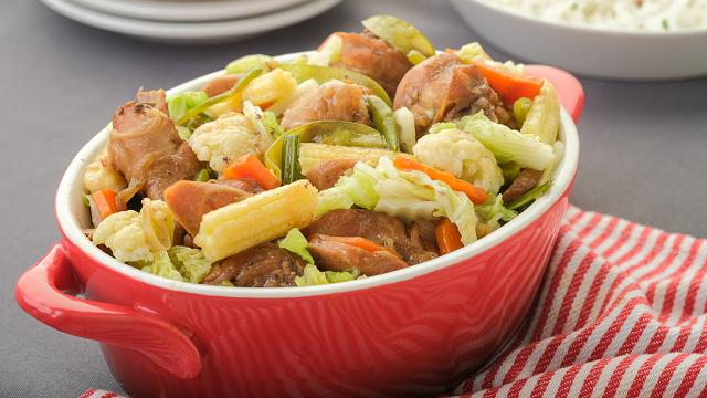Chop Suey With Chicken Recipe