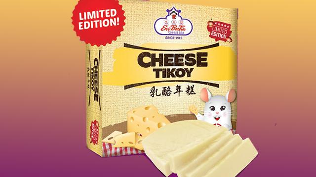 Eng Bee Tin's Cheese Tikoy